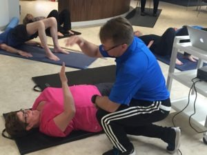 Back Pain exercise class
