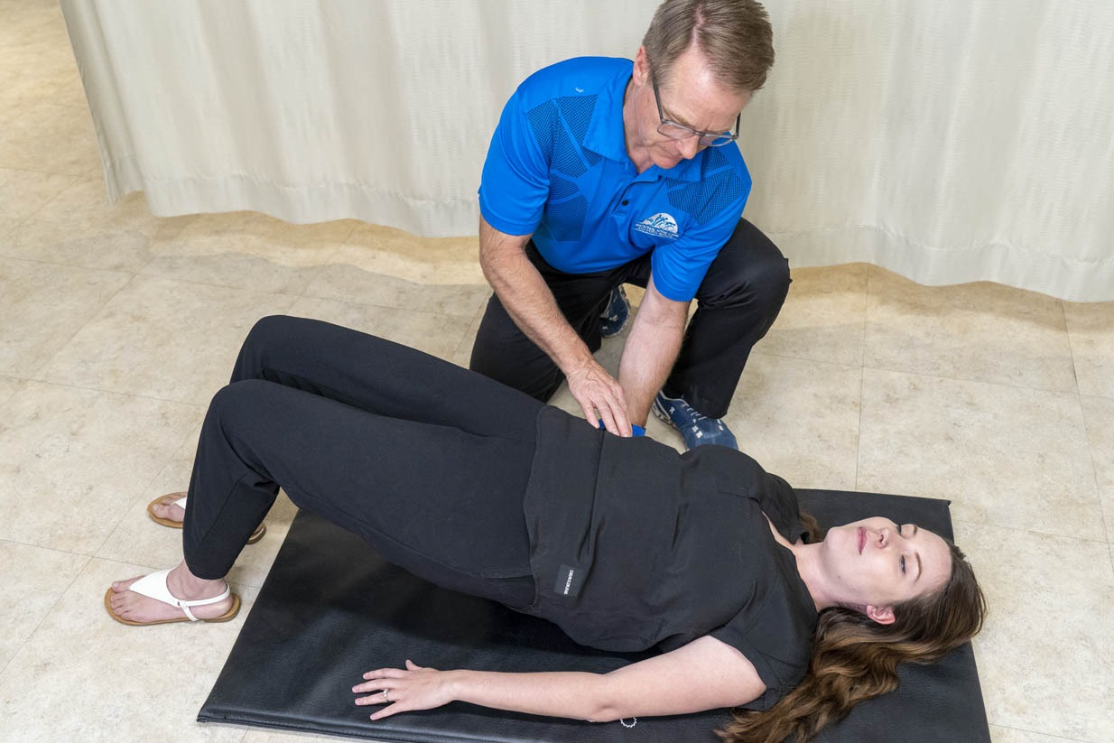 National Spine Care | Dr. McMorland Patient Stretch
