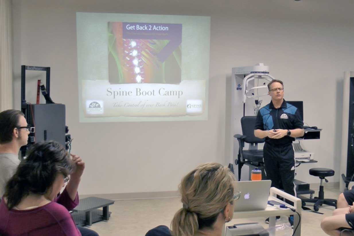 Spine Boot Camp